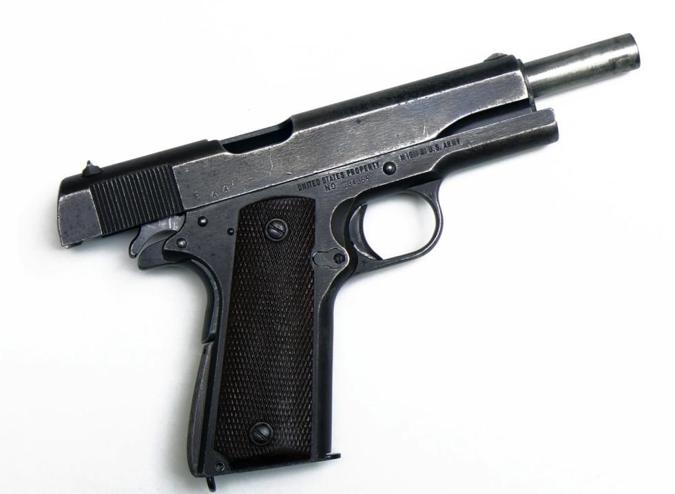 COLT 1911-A1 with original holster | DORLEAC & DORLEAC